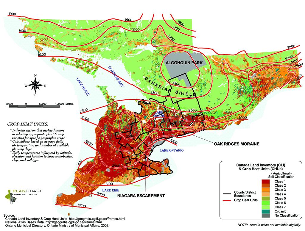 Southwestern Ontario Farmland Smart Growth Zone