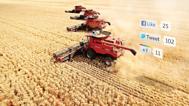 Many modern farmers turn to social media as sources for insight, strategies and the latest farmland buzz to stay in the know.