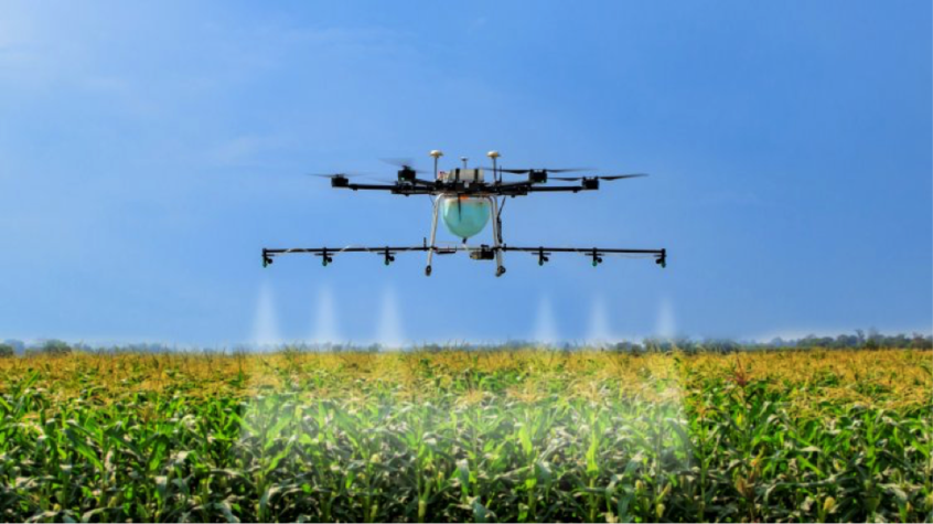 Image of farm drone